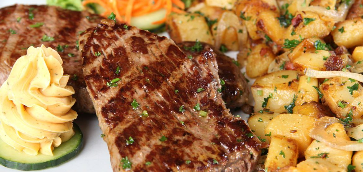 Steak´s vom Grill